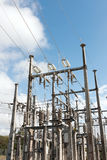High Voltage Sub-Station Stock Image