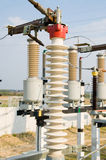 High voltage substantion royalty free stock photos