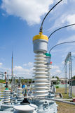 High-voltage Substation Equipments. Stock Photography