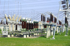 High Voltage Substation II Stock Images