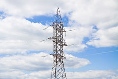 High-voltage support Stock Image