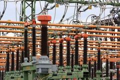 High voltage switch stock photos