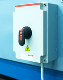 High-voltage switch, automatic Royalty Free Stock Photo