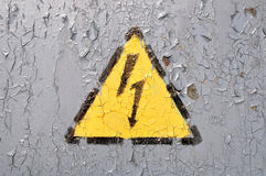 High Voltage Symbol Royalty Free Stock Images