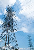 High voltage tower Stock Photography
