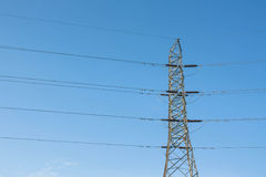 High Voltage Tower Royalty Free Stock Image