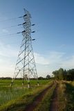 High Voltage Tower Royalty Free Stock Images