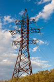 High-voltage tower. Royalty Free Stock Images