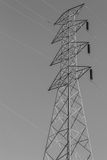 High-voltage tower Stock Photos