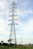 High Voltage tower-3 Stock Photos