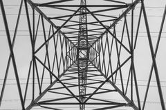 High voltage tower Royalty Free Stock Photography