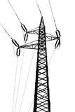 High voltage tower Royalty Free Stock Photos