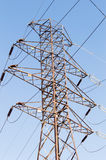 High voltage tower. Stock Image