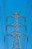 High-voltage towers Royalty Free Stock Photos