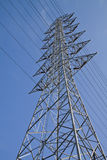 High voltage towers. Royalty Free Stock Photos