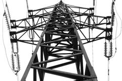 High voltage transformation po Royalty Free Stock Images