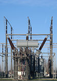 High voltage transformer Stock Images