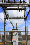 High Voltage Transformer Royalty Free Stock Photos