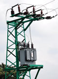 High voltage transformer Royalty Free Stock Photography