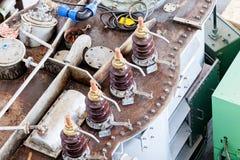 High voltage transformer Royalty Free Stock Photos