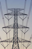 High Voltage Transmission Post Stock Photography