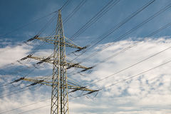 High Voltage Transmission Tower Royalty Free Stock Image