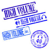 High Volume Stamps Royalty Free Stock Photo