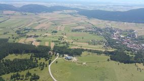 High Wall Lower Austria Panorama Stock Photo