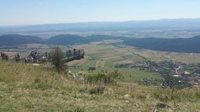 High Wall Lower Austria Panorama Royalty Free Stock Images