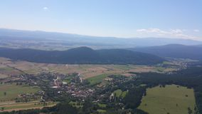 High Wall Lower Austria Panorama Stock Images