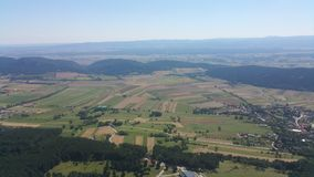 High Wall Lower Austria Panorama Stock Photography