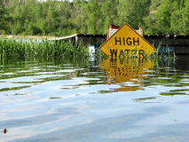 High Water Royalty Free Stock Photos