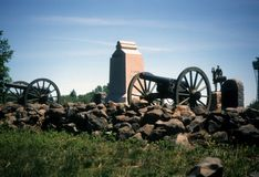 High Water Mark, Union lines stock image