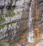 High waterfall, Vodopadisty. The mountain Fischt. Russia. Caucas Stock Photos