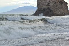 High waves Royalty Free Stock Images