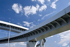 High way bridge Royalty Free Stock Images