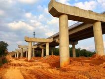 High way construction, China stock photo