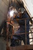 High weld Stock Photography