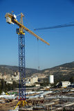 Construction Site Among Hills Stock Photography