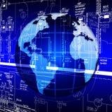 High world technologies. Development of the highest world the Internet of technologies Stock Photos
