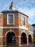 High Wycombe UK - 9 November, 2014: High Wycombe havremarknad Royaltyfria Foton