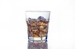 Highball glass of scotch Royalty Free Stock Photo