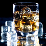 Highball whiskey glass Royalty Free Stock Image