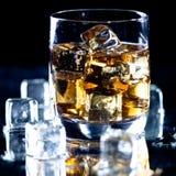 Highball whiskey glass Royalty Free Stock Image