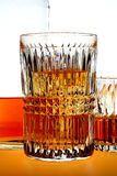 Highball and Whiskey on the Rocks Royalty Free Stock Photo