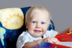 highchair dzieciak Zdjęcie Stock