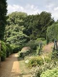 Highclare kasztelu ogródu pas ruchu obrazy royalty free