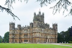 Free Highclere Castle, A Jacobethan Style Country House, Home Of The Earl And Countess Of Carnarvon. Setting Of Downton Abbey - UK Royalty Free Stock Images - 166760699
