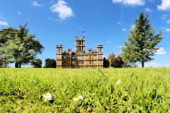 Highclere Castle Berkshire ENGLAND UK Royalty Free Stock Image