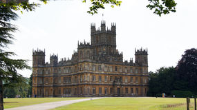 Highclere Castle, Dowton Abbey Stock Images